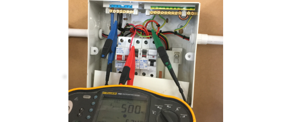 Calbarrie electrical testing
